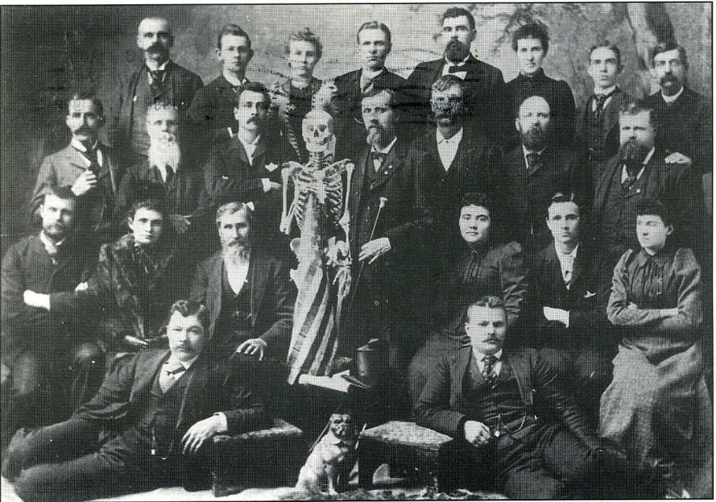 Osteopathy - Class of 1892