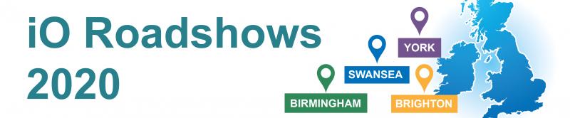 iO Roadshows 2020 - More Information